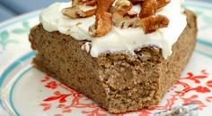 Kristy shares a delicious healthy breakfast - and yes, you CAN eat cake for breakfast! You'll want to make this Banana Buckwheat Breakfast Cake ASAP - especially with delicious toppings like peanut butter and healthy cream cheese frosting Pastry Recipes, Healthy Baking, Healthy Snacks, Healthy Life, Breakfast Cake, Breakfast Recipes, Brunch Recipes, Healthy Cream Cheese, Recipes