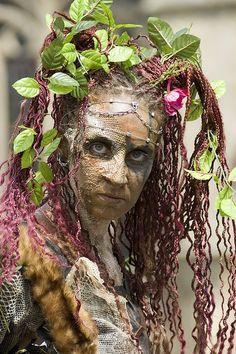 Plant Woman by Zetach, via Flickr