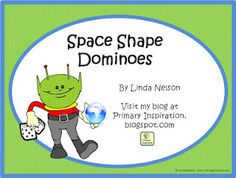 Primary Inspiration: 3D Shapes - A Free Math Center Activity!