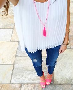 pink accessories. cute outfit.