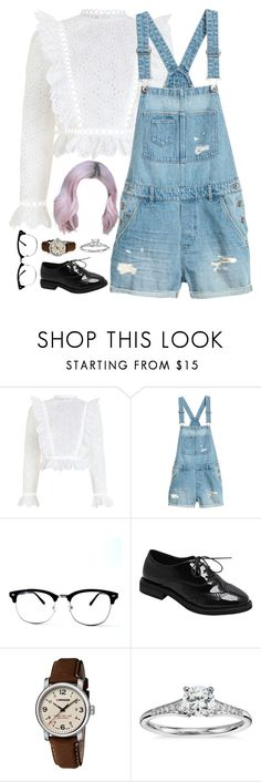 """Untitled #671"" by psycho-netflixing-anime ❤ liked on Polyvore featuring Zimmermann, Wenger and Blue Nile"
