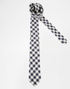 ASOS Tie With Gingham Check
