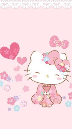 Hello Kitty Wallpaper. #hellokitty