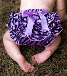 Lavender Zebra Bum Cover