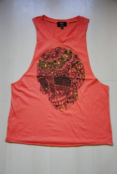 Tank top skull, $13 (a favourite gothic punk clothes repin of VIP Fashion Australia )