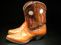 vintage 1940's Justin Cowboy Boots