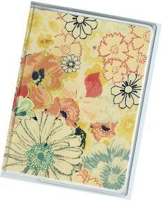 Passport Cover  Yellow Floral Flourish by rabbitholeonline on Etsy, $5.25