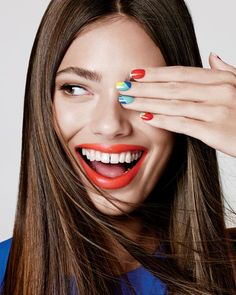 Here's how to DIY incredible nail art.