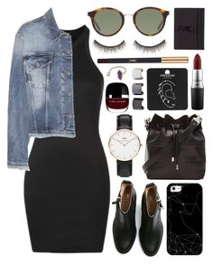 """Untitled #471"" by clary94 ❤ liked on Polyvore featuring Topshop, Acne Studios, Yves Saint Laurent, Proenza Schouler, Casetify, Daniel Wellington, MAC Cosmetics, shu uemura, Marc Jacobs and Luv Aj"