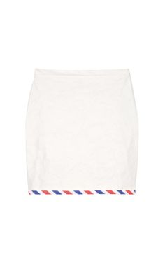 Shop Skirt With Postal Stripe by Hussein Chalayan Now Available on Moda Operandi