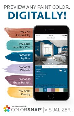 The ColorSnap® paint color matching app uses your Android or iPhone smartphone to match Sherwin-Williams\u0027 paint colors to pictures of your favorite things.