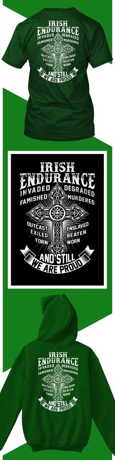Irish Endurance - Limited edition. Order 2 or more for friends/family & save on shipping! Makes a great gift!
