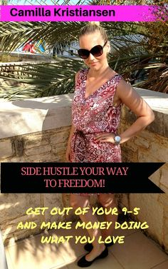 Are you stuck in a 9-5 job and want out of it? Do you know that you are meant for so much more but can't see how you could build a business on the side of you job? Then this book will give you the answer to that. Learn my secrets to side hustle your way to freedom and make money doing what you love.