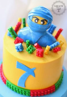 Rise of Jay ! / Grace Cakery Ninjago Cake