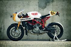 """The latest custom motorcycle from Radical Ducati of Spain is the """"7½ Sportiva""""—a Ducati 749R given a retro flavor and put on a diet."""