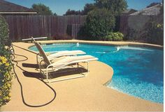 The pooldeck in this photograph was one of the first Rubaroc installations, back in 1983. Times have changed, but this deck is still looking as great as it did back then!