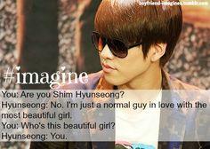 Boyfriend Hyunseong Imagine Kpop Boyband