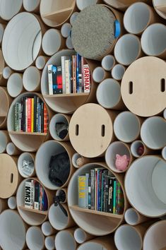 Circle Packed Wall by SOFTlab - iCreatived