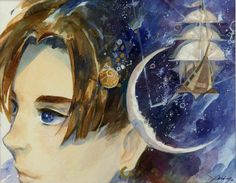 Planetary Voyage - Xinwei Huang, Treasure Planet Jim Hawkins Treasure Planet, Treasure Planet Jim, Disney And More, Disney Fun, Brave Cartoon, Planet Tattoos, Planets Wallpaper, Nickelodeon Cartoons, Fan Art