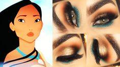 Tutorial inspirado nas cores da Pocahontas