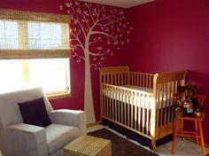 fuchsia & purple & orange nursery