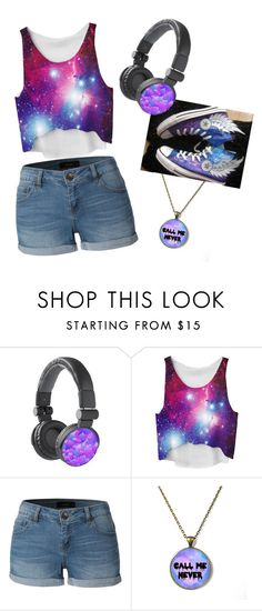 """I don't Care! "" by nightshade98 ❤ liked on Polyvore featuring Converse and LE3NO"