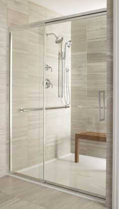 bathroom sliding glass doors - Google Search