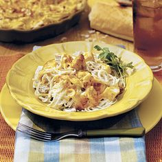 Quick and Easy Chicken Tetrazini  Shortcut Chicken Favorites  ~Southern Living~