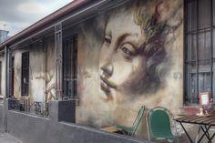 By Adnate. In Fitzroy, Melbourne, Victoria, Australia.