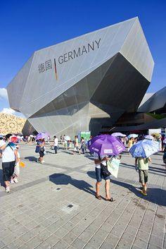 Wojtek Gurak   Germany Pavilion   Shanghai EXPO 2010, designed by Schmidhuber + Kaindl, China
