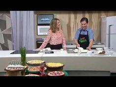 Pizza de chocolate com morango — Receitas