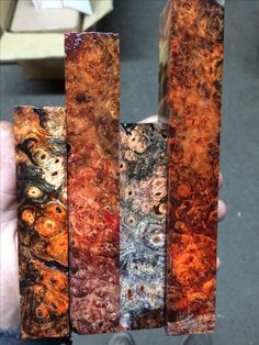 Stabilized Wood, Wood Knife, Pen Blanks, Wood Species, Wood Turning, Pens, Knives, Woods, Exotic