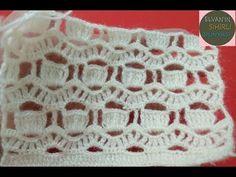 DALGALI GELİN YELEĞİ MODELİ YAPILIŞI / MAKING A WAVED FUTURE VEST MODEL - YouTube Filet Crochet, Crochet Motif, Crochet Shawl, Crochet Baby, Crochet Stitches Patterns, Baby Knitting Patterns, Stitch Patterns, Crochet Crocodile Stitch, Crochet Blouse