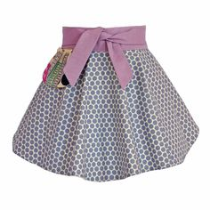 "Introducing the ""Ava"" half #apron, our latest ""little cooks"" apron. 100% pre-washed cotton. Custom designed for our friends over at Klover House for the little girl with chic taste and a flare for the romantic. #gift #giftidea #giftideas #giftideasforwomen #style #fashion #cook #bake #baker #kitchen #chic #polkadot #dot #womensstyle #womensfashion #apron #womensfashionaccessories"