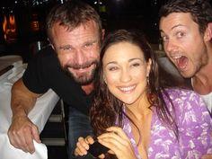 Barry Duffield (Lugo), Jenna Lind (Kore), & Dan Feuerriegel (Agron)