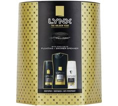 Buy Lynx Gold Men's Shower Speaker Gift Set at Argos. Thousands of products for same day delivery £3.95, or fast store collection. Men Shower, Shower Speaker, Speakers For Sale, The Golden Years, Secret Santa Gifts, Argos, Viera, Mens Gift Sets, Xmas Gifts