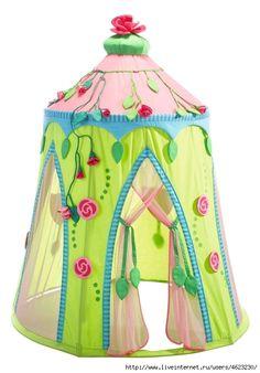 Домики-шатры для наших принцесс.И для принцев . Обсуждение на LiveInternet - Российский Сервис Онлайн-Дневников