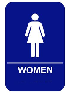 Women's Bathroom Sign You Can't Unsee braille women restroom signs | ada braille signs | pinterest | ada