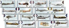 Canada Post - 1999 -    Canadian Air Force, 1924-1999.:       Meticulously researched and rendered, set commemorates the 75th anniversary of Canada's Air Forces. Each precise, detailed stamp illustrates an aircraft with a special place in the history of Canada's air forces, from the Burgess-Dunne Seaplane of 1914 to the McDonnell Douglas CF-18 in active service today. The stamp set was designed by Tiit Telmet and Marko Barac of Toronto's Telmet Design Associates and issued September 4, 1999.