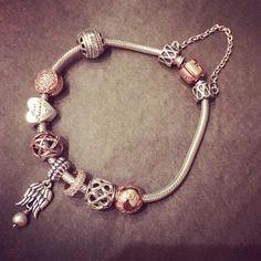 Mine ❤️ #pandora#rosegold#rose#collection#pandorabracelet#pandoralove#completed#style#usa#bracelet#rosepandora | Shared from estore-us.pandora.net