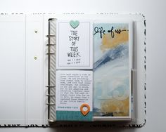 Week in the life 2015 Project Life 6x8, Simply Stamps, Ali Edwards, Page Protectors, Book Projects, Project Ideas, Life Inspiration, Creative Inspiration, Budget Template
