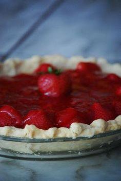 Heritage Schoolhouse: Fresh Strawberry Pie