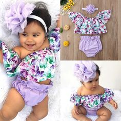 Buy US Newborn Baby Girls Off Shoulder Floral Tops Shorts Briefs Outfit Clothes , Purchase US Newborn Baby Girls Off Shoulder Floral Tops Shorts Briefs Outfit Clothes . US Newborn Baby Girls Off Shoulder Floral Tops Shorts Briefs Outfit Clothes Newborn Girl Outfits, Cute Baby Girl Outfits, Girls Summer Outfits, Toddler Girl Outfits, Cute Baby Clothes, Baby Girl Newborn, Kids Outfits, Baby Girls, Girls Dresses