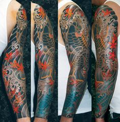 Christopher D. Brand || #Japanesetattoos #tattoos