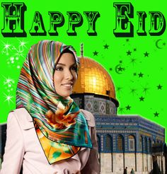 Happy Greetings Congrats: Happy Eid Beautiful
