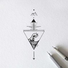 Cool Art Drawings, Doodle Drawings, Easy Drawings, Doodle Art, Tattoo Drawings, Art Sketches, Mini Tattoos, Body Art Tattoos, Small Tattoos