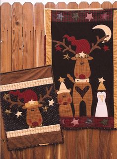 Reindeer games wall hangings