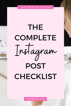 Use this daily Instagram checklist to plan your posts and stories! Make sure you do every single one of these 7 things EVERY time you upload new content to your IG account. #instagram #instagramchecklist #instagramideas #instagramtemplates #instagrampictureideas Good Instagram Posts, Instagram Apps, Find Instagram, Instagram Marketing Tips, Instagram Story Ideas, Picture Ideas, Photo Ideas, More Instagram Followers