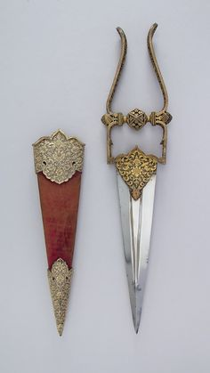 Dagger (Katar) with Sheath | Indian | The Metropolitan Museum of Art