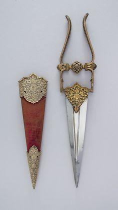Dagger (Katar) with Sheath | Indian | The Metropolitan Museum of Art